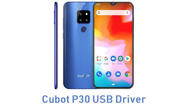 Cubot P30 USB Driver
