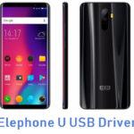 Elephone U USB Driver
