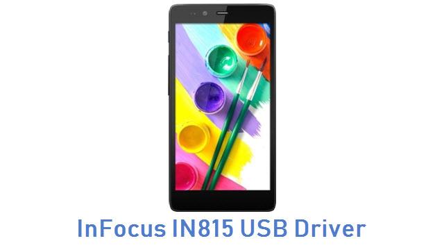 InFocus IN815 USB Driver