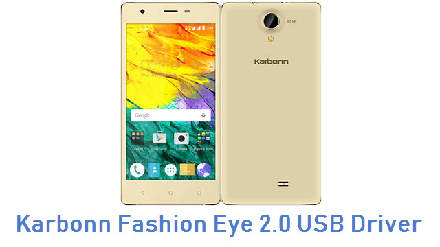 Karbonn Fashion Eye 2.0 USB Driver