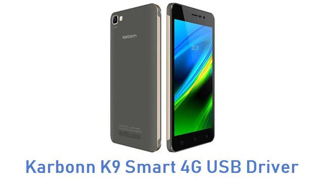 Karbonn K9 Smart 4G USB Driver