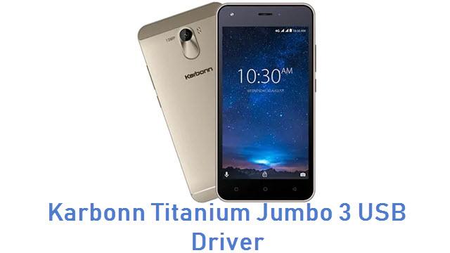 Karbonn Titanium Jumbo 3 USB Driver