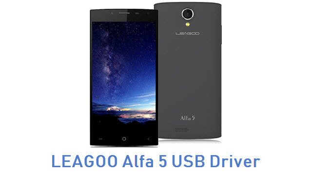 LEAGOO Alfa 5 USB Driver