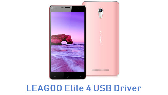 LEAGOO Elite 4 USB Driver
