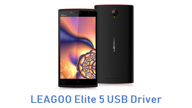 LEAGOO Elite 5 USB Driver