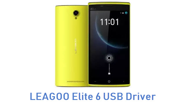 LEAGOO Elite 6 USB Driver