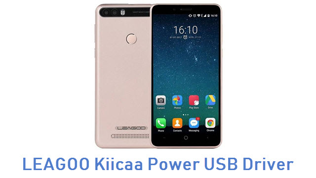 LEAGOO Kiicaa Power USB Driver