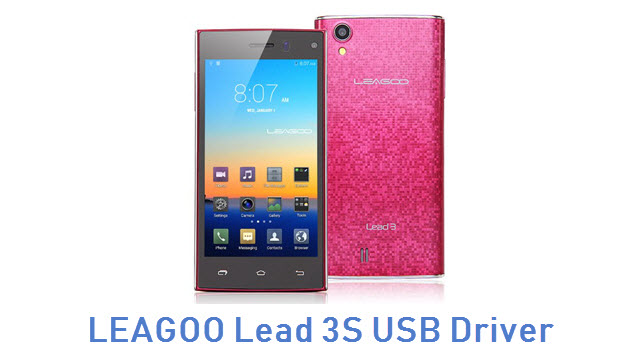 LEAGOO Lead 3S USB Driver