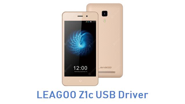 LEAGOO Z1c USB Driver