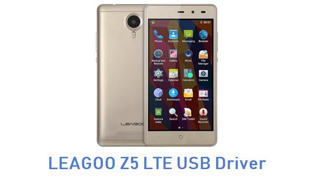 LEAGOO Z5 LTE USB Driver