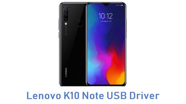 Lenovo K10 Note USB Driver