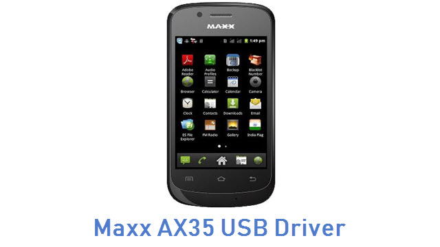 Maxx AX35 USB Driver