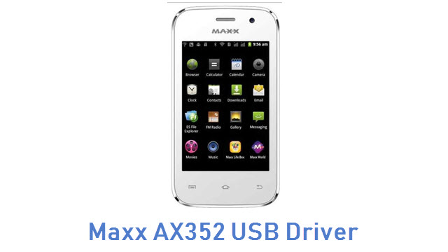 Maxx AX352 USB Driver