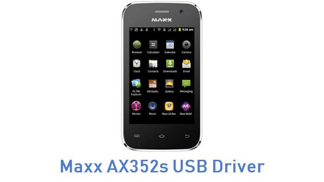 Maxx AX352s USB Driver