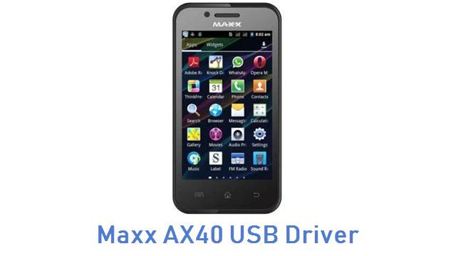 Maxx AX40 USB Driver