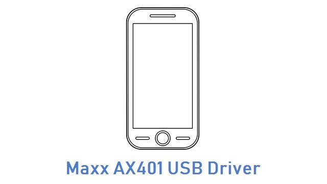 Maxx AX401 USB Driver