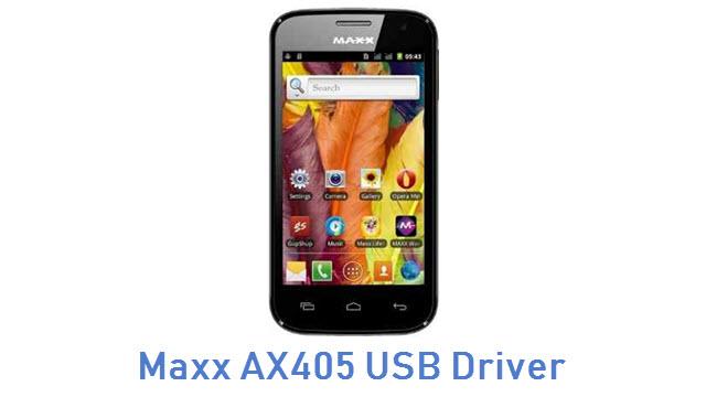 Maxx AX405 USB Driver