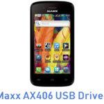 Maxx AX406 USB Driver