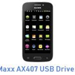 Maxx AX407 USB Driver
