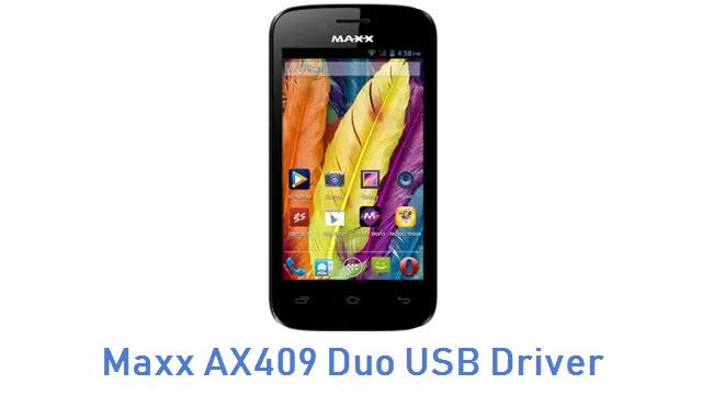 Maxx AX409 Duo USB Driver