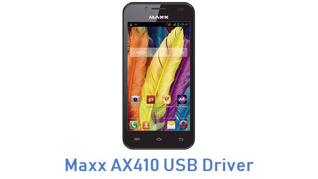 Maxx AX410 USB Driver