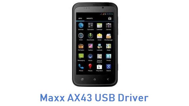Maxx AX43 USB Driver