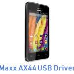 Maxx AX44 USB Driver