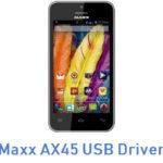 Maxx AX45 USB Driver