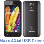 Maxx AX46 USB Driver