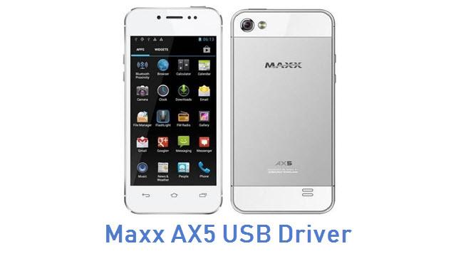 Maxx AX5 USB Driver
