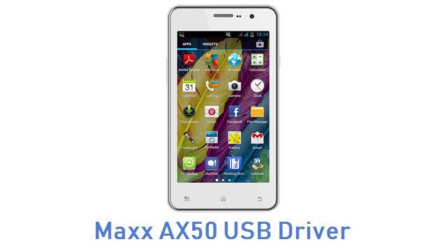 Maxx AX50 USB Driver
