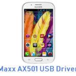 Maxx AX501 USB Driver