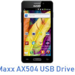 Maxx AX504 USB Driver
