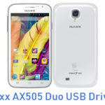 Maxx AX505 Duo USB Driver