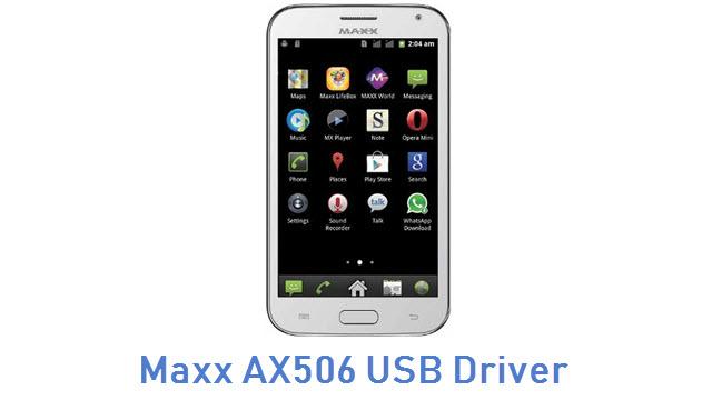 Maxx AX506 USB Driver