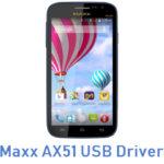Maxx AX51 USB Driver