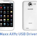 Maxx AX9z USB Driver