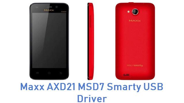 Maxx AXD21 MSD7 Smarty USB Driver