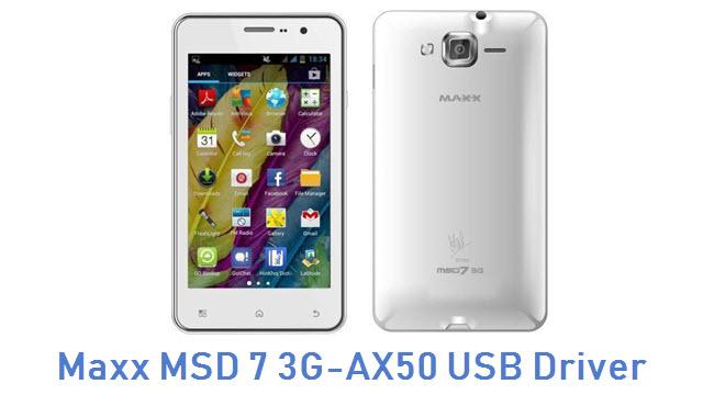 Maxx MSD 7 3G-AX50 USB Driver