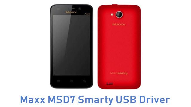 Maxx MSD7 Smarty USB Driver