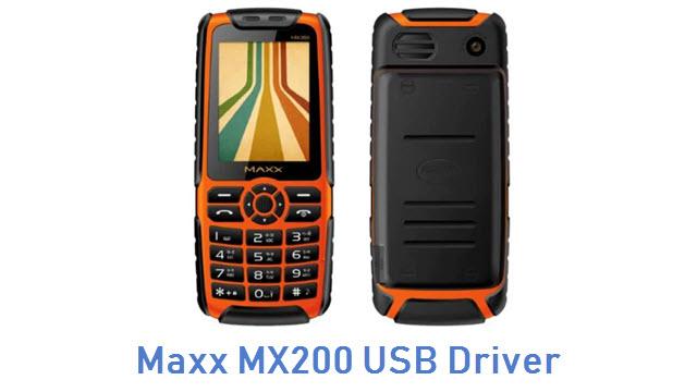 Maxx MX200 USB Driver