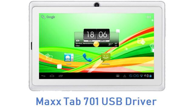 Maxx Tab 701 USB Driver