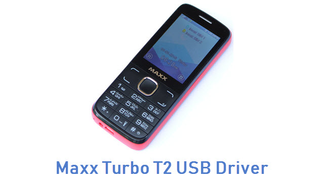 Maxx Turbo T2 USB Driver