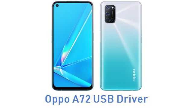 Oppo A72 USB Driver