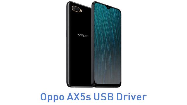Oppo AX5s USB Driver