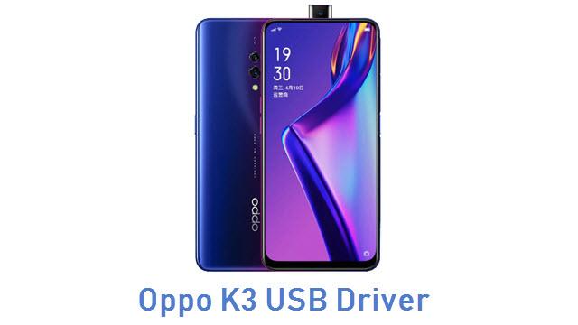 Oppo K3 USB Driver