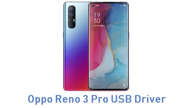 Oppo Reno 3 Pro USB Driver