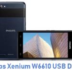 Philips Xenium W6610 USB Driver