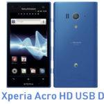 Sony Xperia Acro HD USB Driver