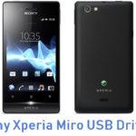 Sony Xperia Miro USB Driver